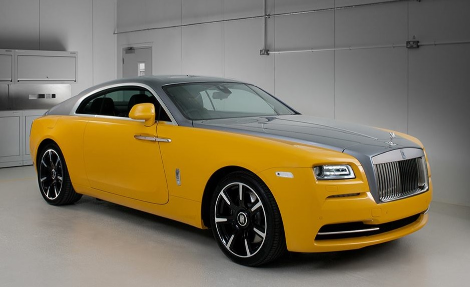 golden yellow wraith 1
