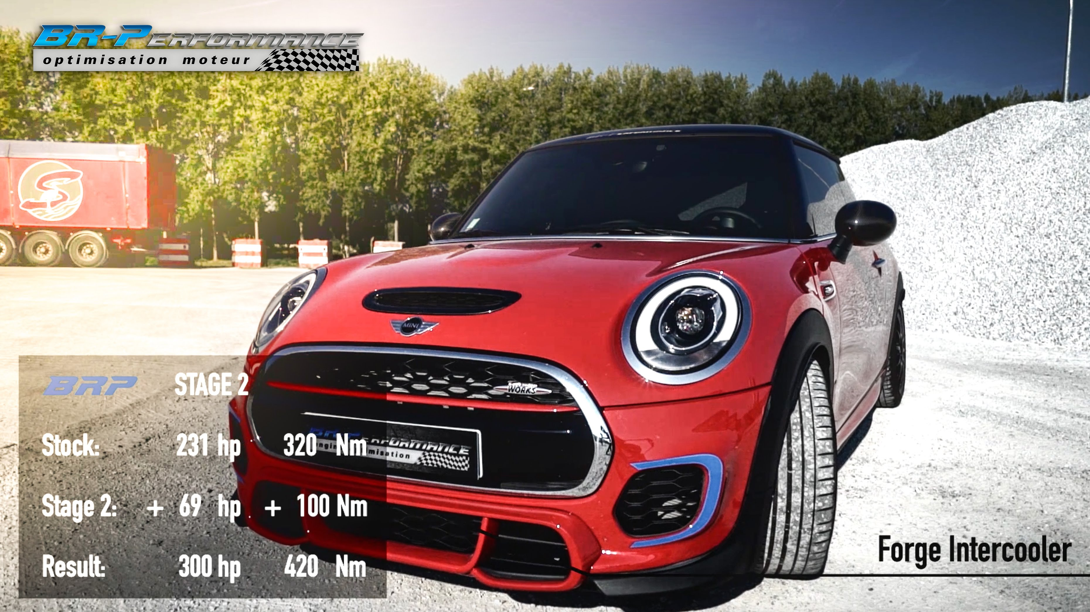 Video Stage 2 Mini Jcw From Br Performance Claimed To Have 300 Hp