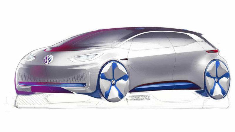 vw electric concept