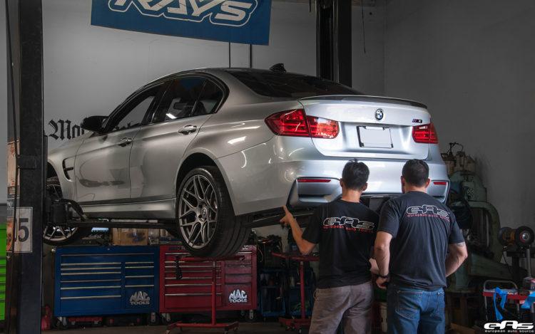 2015 Silverstone Metallic BMW M3 Project By European Auto Source 6 750x469