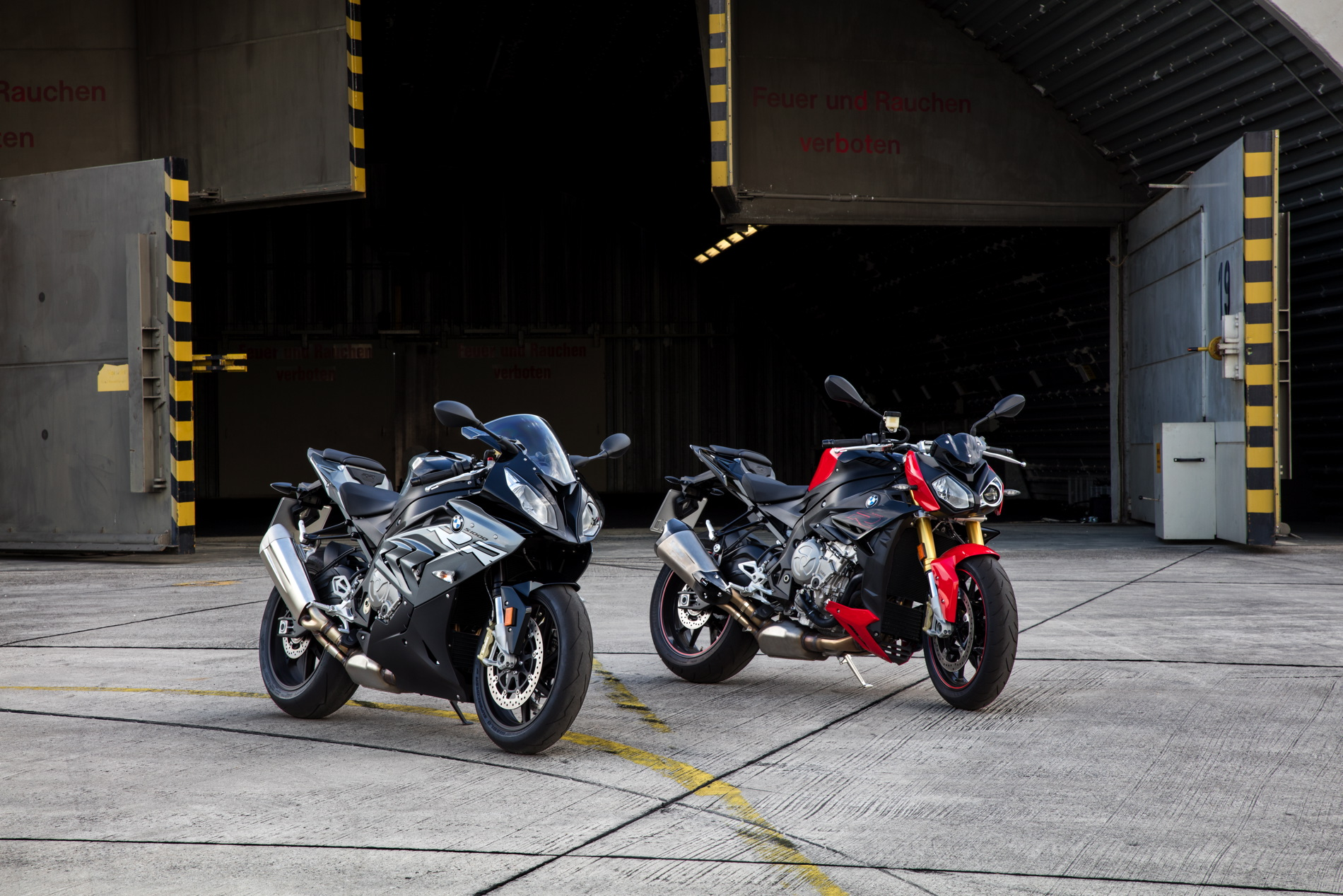 2017 BMW S 1000 RR S 1000 R S 1000 XR 4