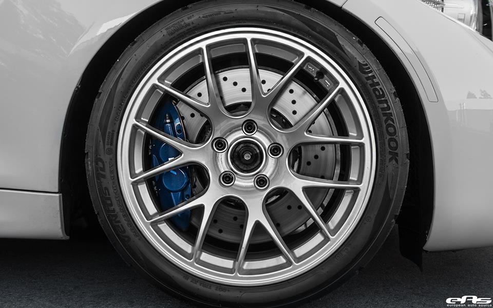 Alpine White BMW M2 EAS 12