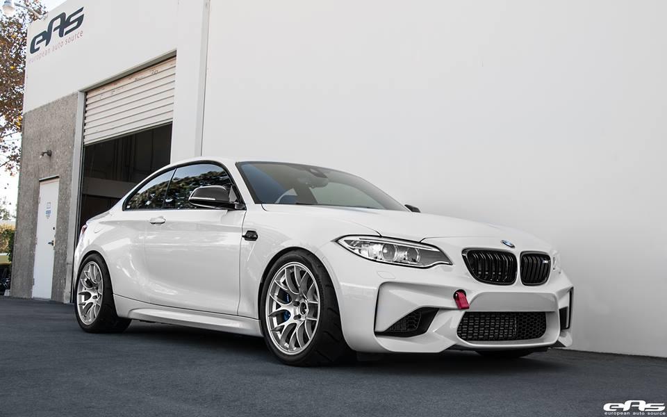 Alpine White BMW M2 EAS 6