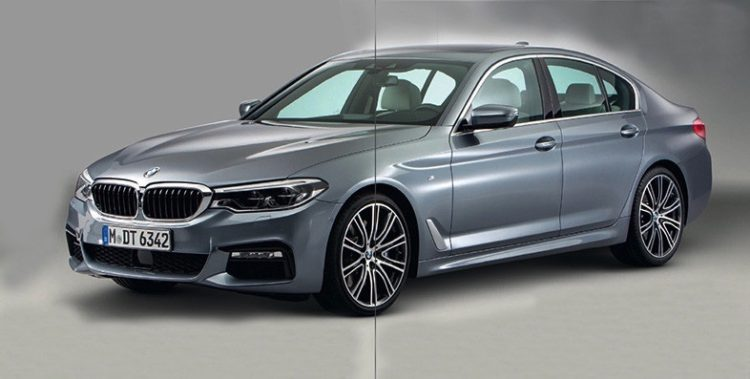 BMW 5 Series leak 750x379