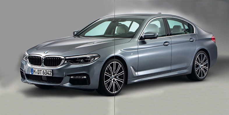 BMW 5 Series leak