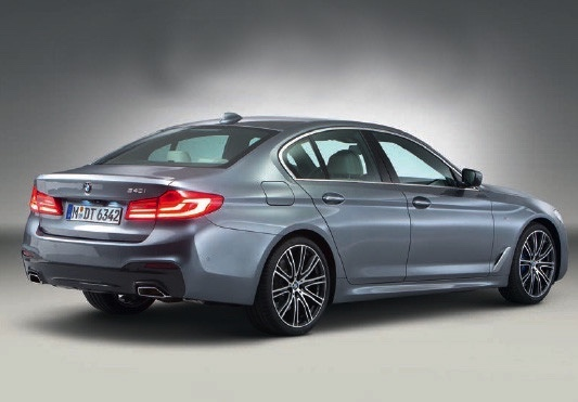 BMW 5 series leak rear