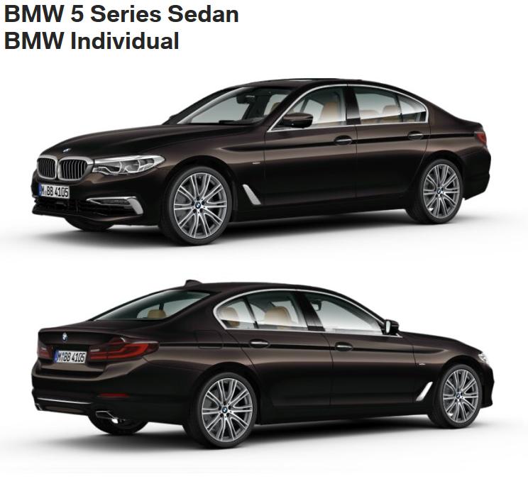 BMW 5er G30 - BMW Individual