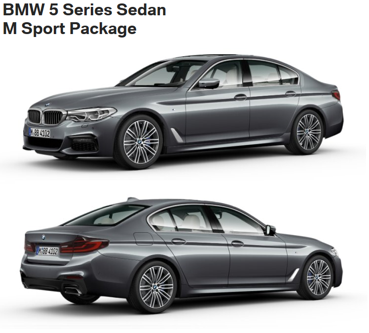 BMW 5er G30 M Sport