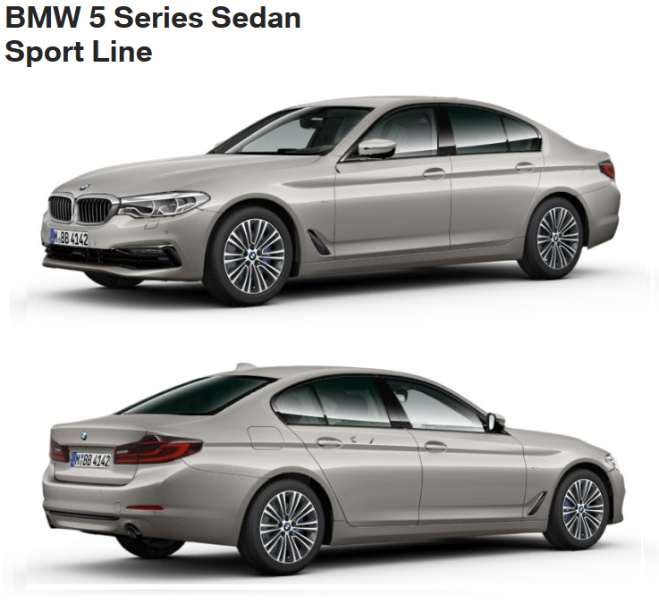 The Lines And Packages Of The New BMW 5 Series