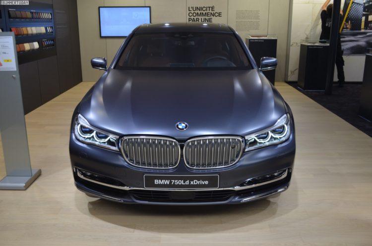 BMW 750d 2016 Paris Frozen Arctic Grey Quadturbo Diesel 05 750x497