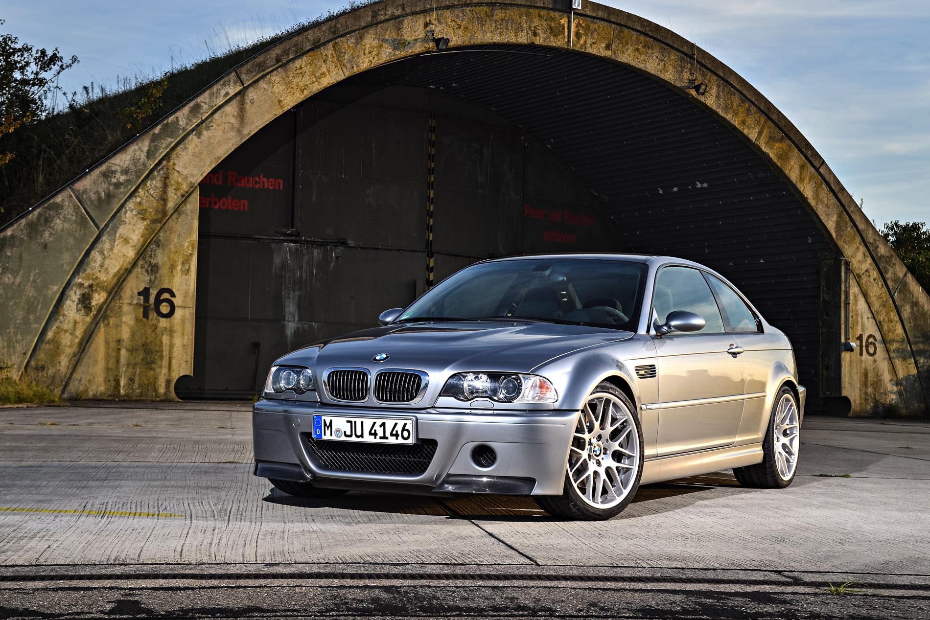 BMW E46 M3 CSL 12