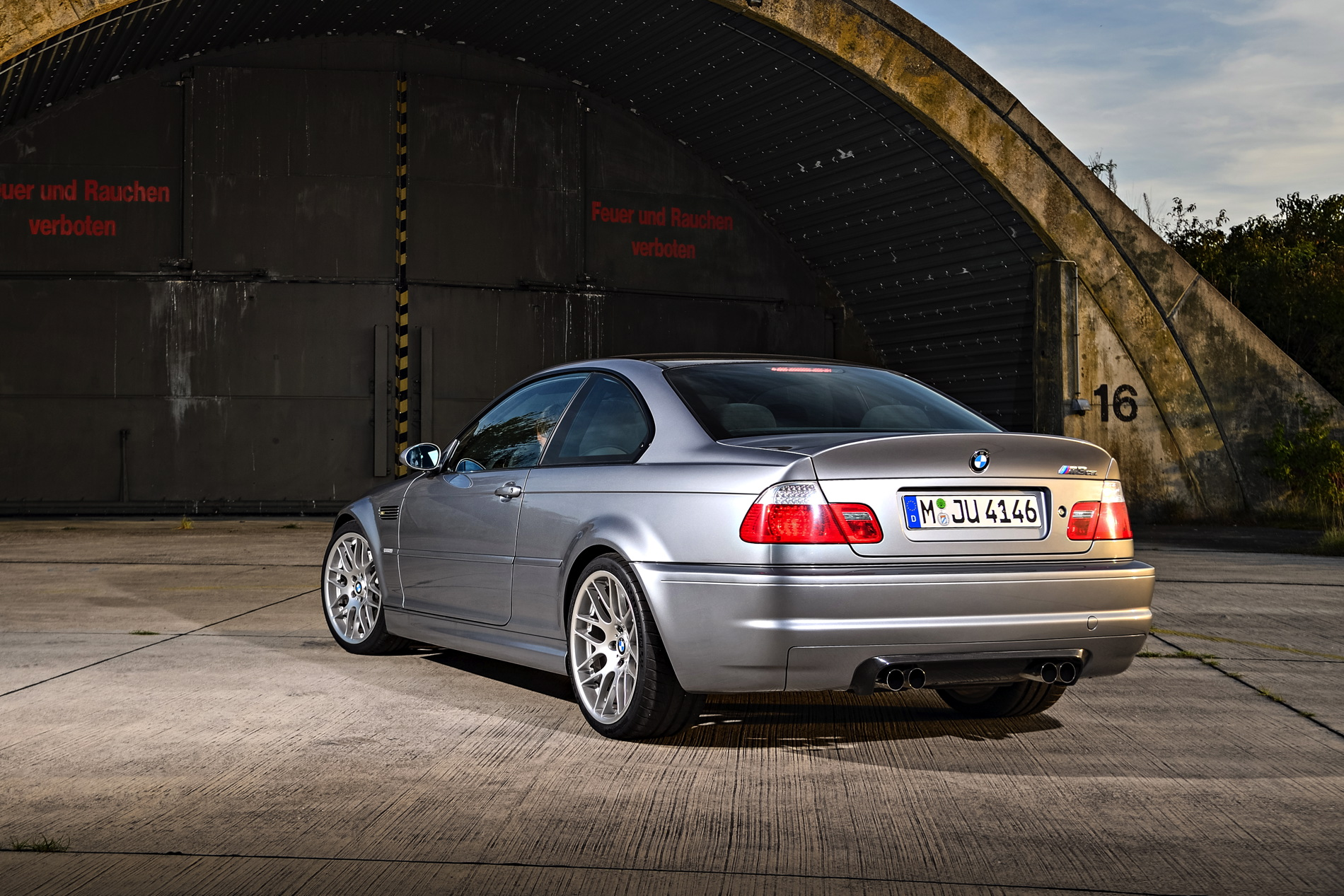 When Was The First Car Ever Made >> The One And Only: BMW E46 M3 CSL