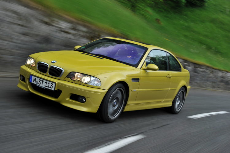 BMW E46 M3 phoenix yellow 18 750x500