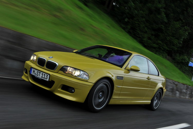BMW E46 M3 phoenix yellow 21 750x500