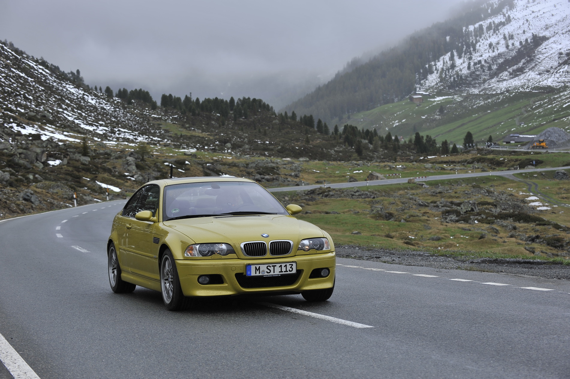BMW E46 M3 phoenix yellow 24