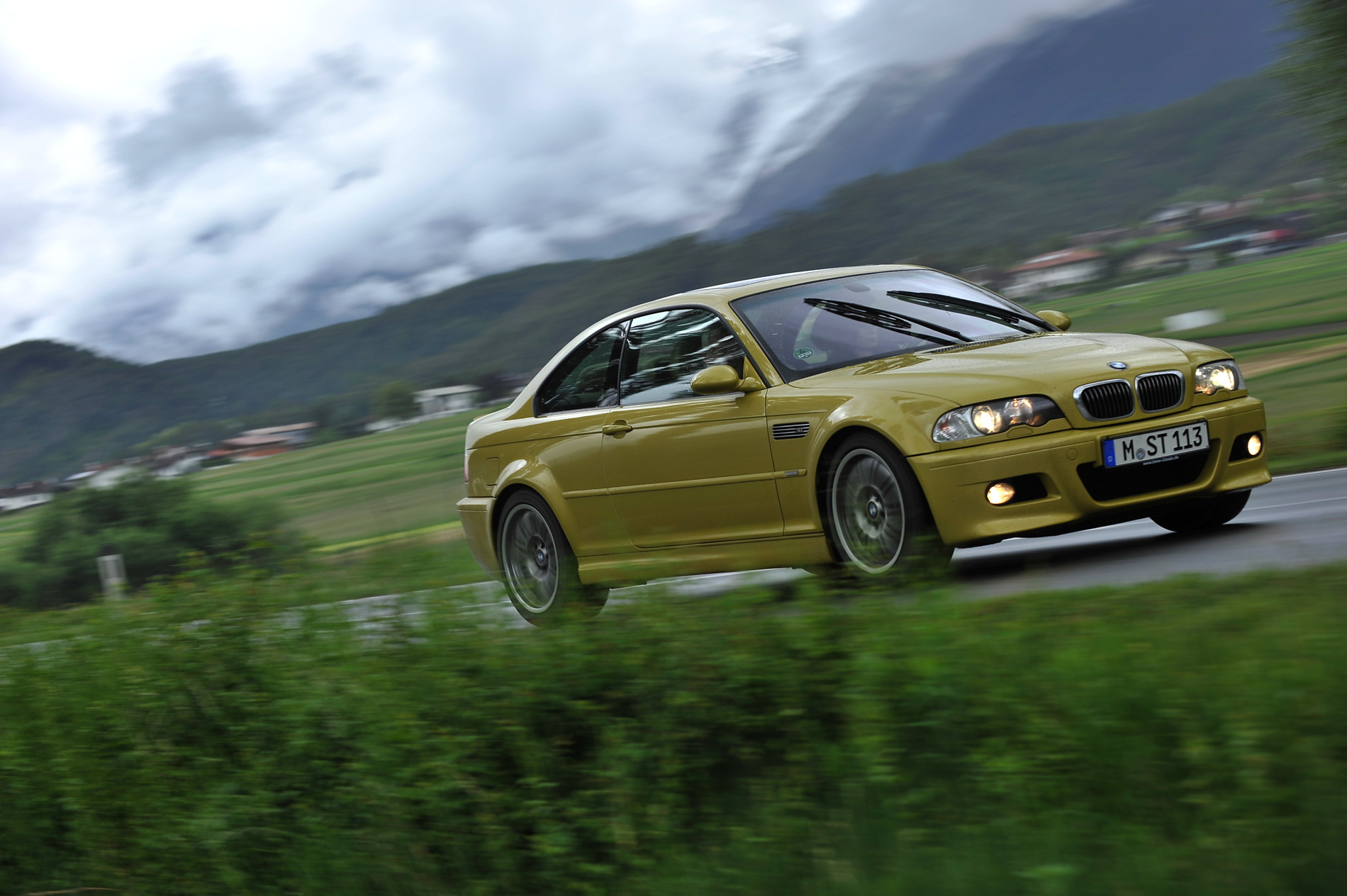 Photoshoot With The Beautiful Bmw E46 M3 Phoenix Yellow