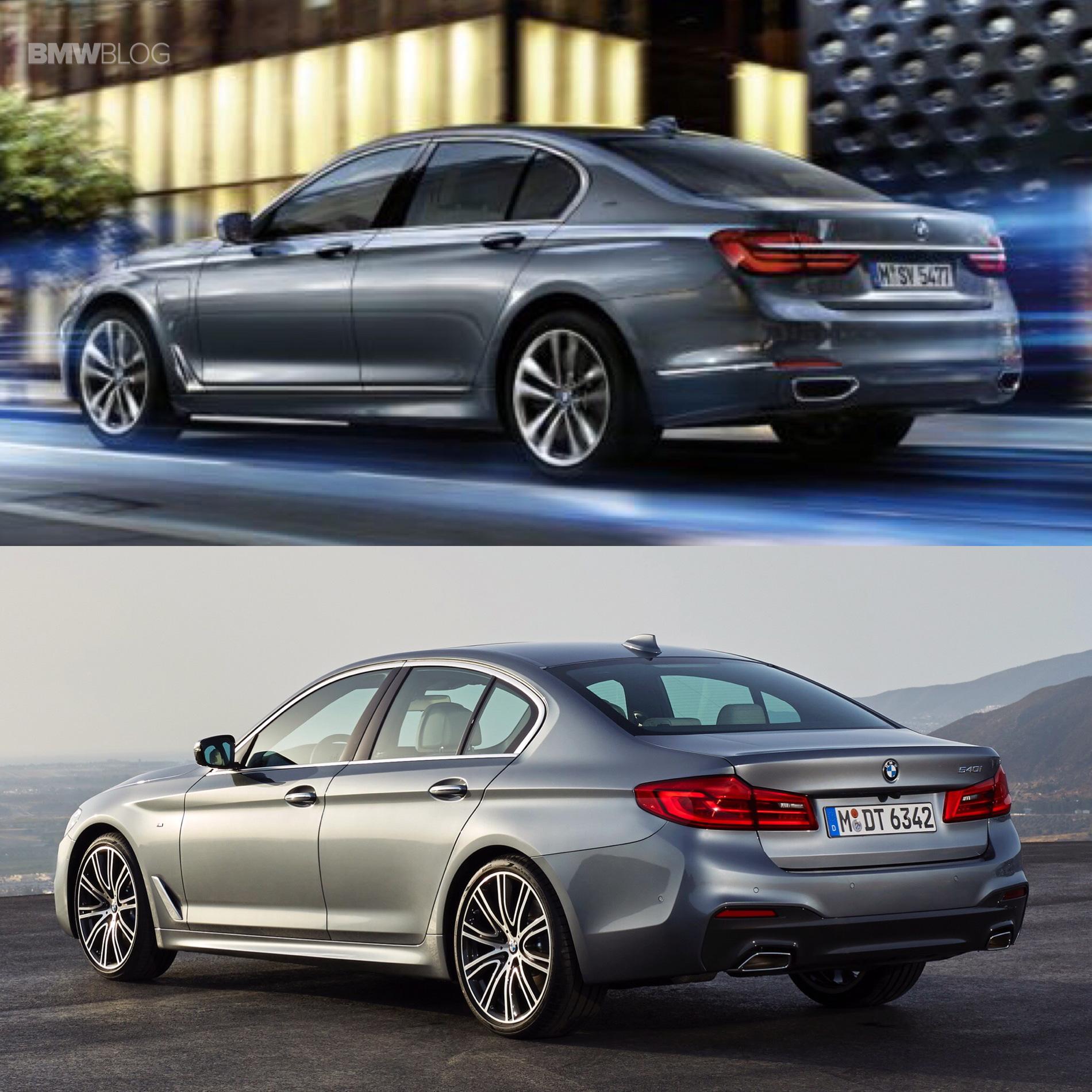 Bmw Connected Drive >> 2017 BMW G30 5 Series vs. BMW G11 7 Series - Photo Comparison