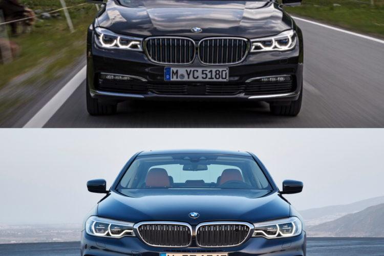 BMW G30 5 Series G11 7 Series comparison 7 750x500