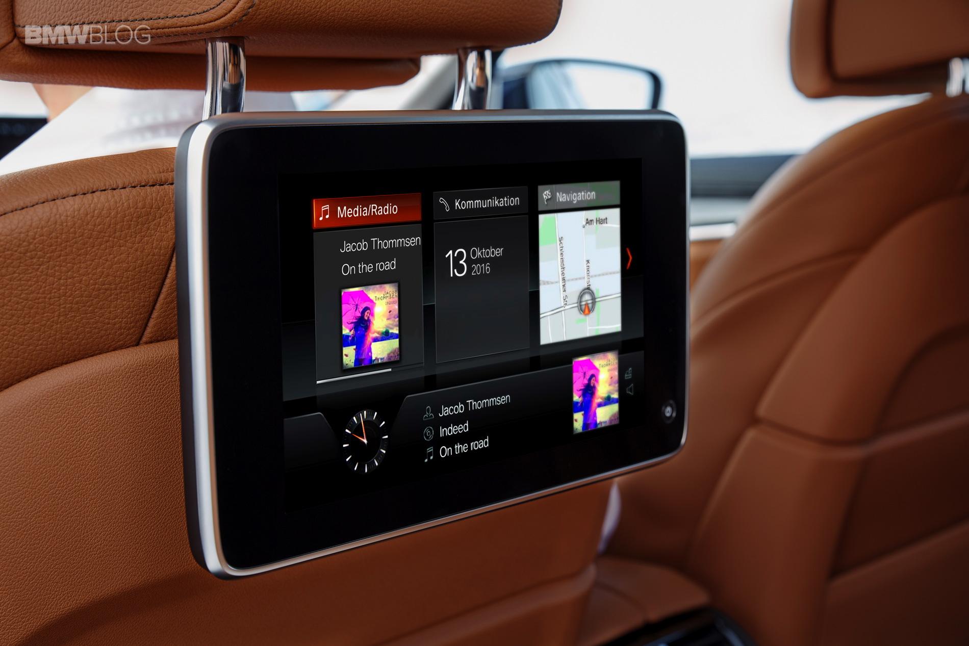 BMW G30 5 Series Luxury Line interior 2