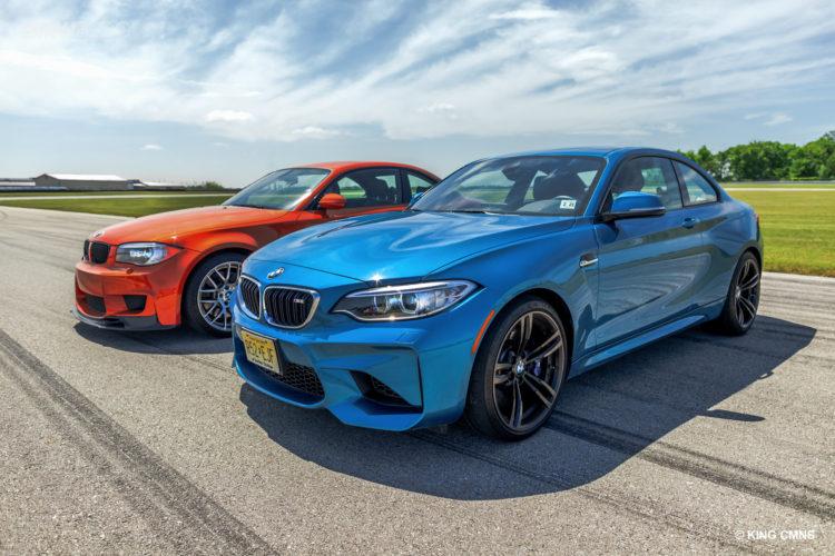 BMW M2 vs BMW 1M 13 750x500