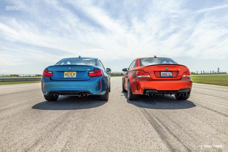 BMW M2 vs BMW 1M 19 750x500