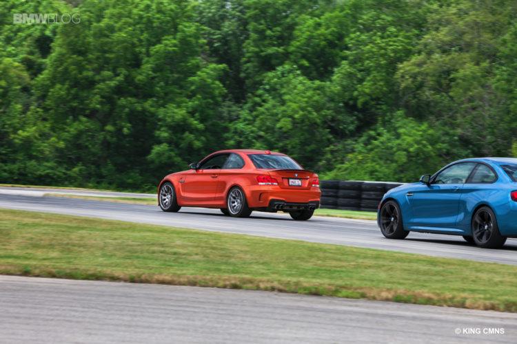 BMW M2 vs BMW 1M 2 750x500