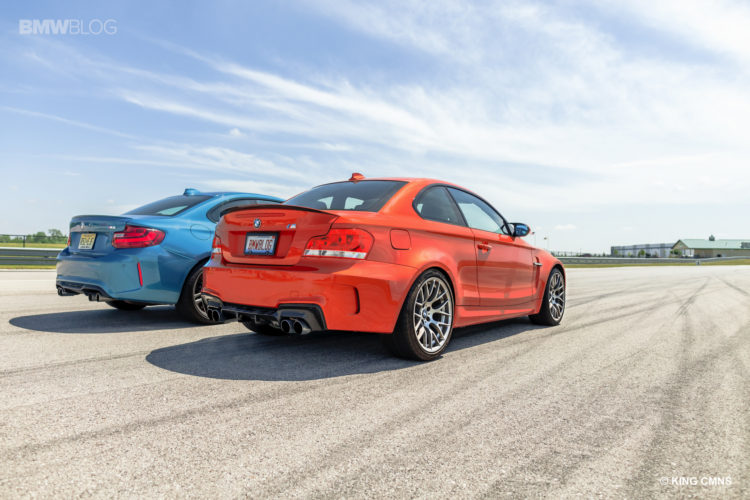 BMW M2 vs BMW 1M 20 750x500