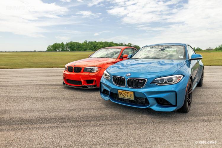 BMW M2 vs BMW 1M 24 750x500