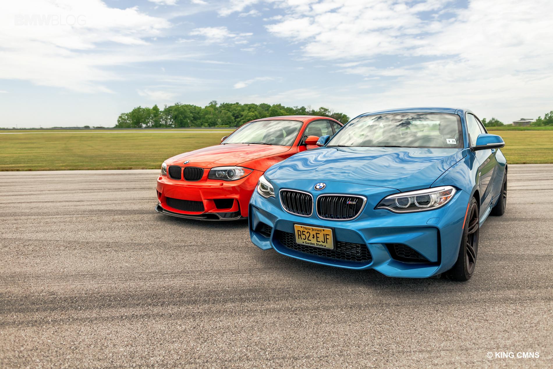 BMW M2 vs BMW 1M 24