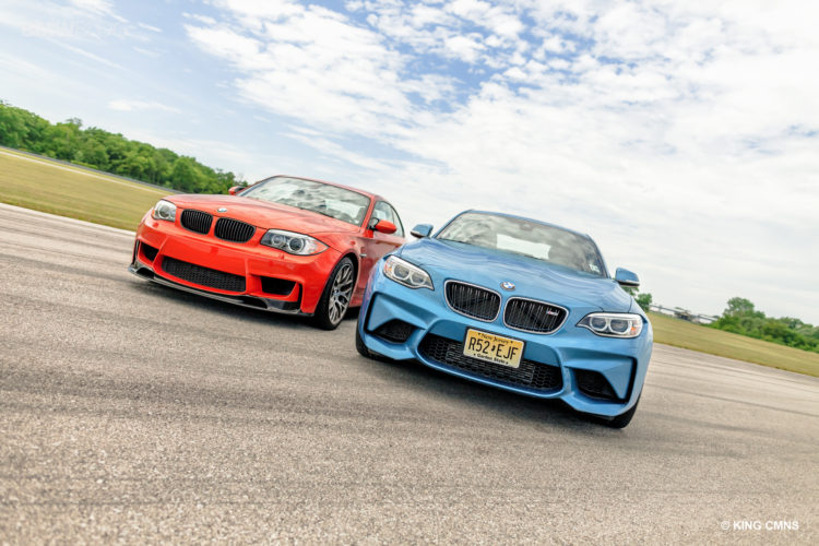 BMW M2 vs BMW 1M 25 750x500