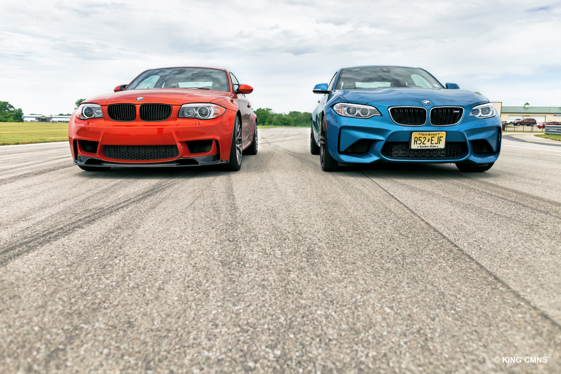 BMW M2 vs BMW 1M 28