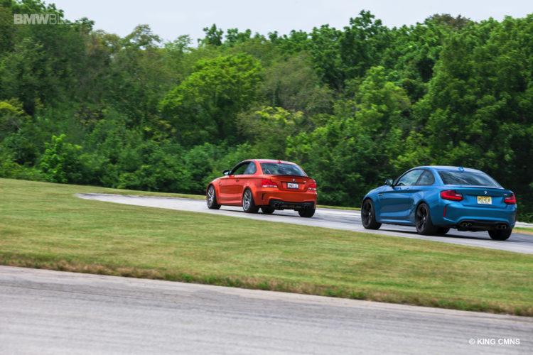 BMW M2 vs BMW 1M 3 750x500