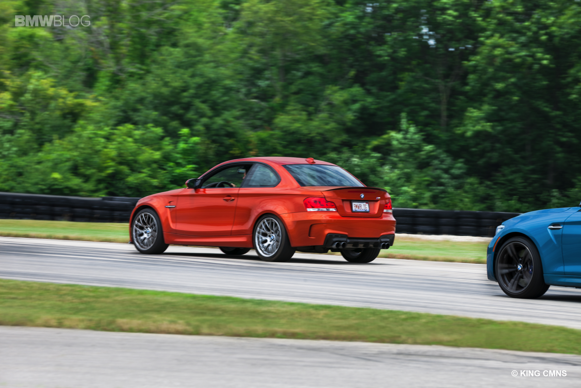 BMW M2 vs BMW 1M 34