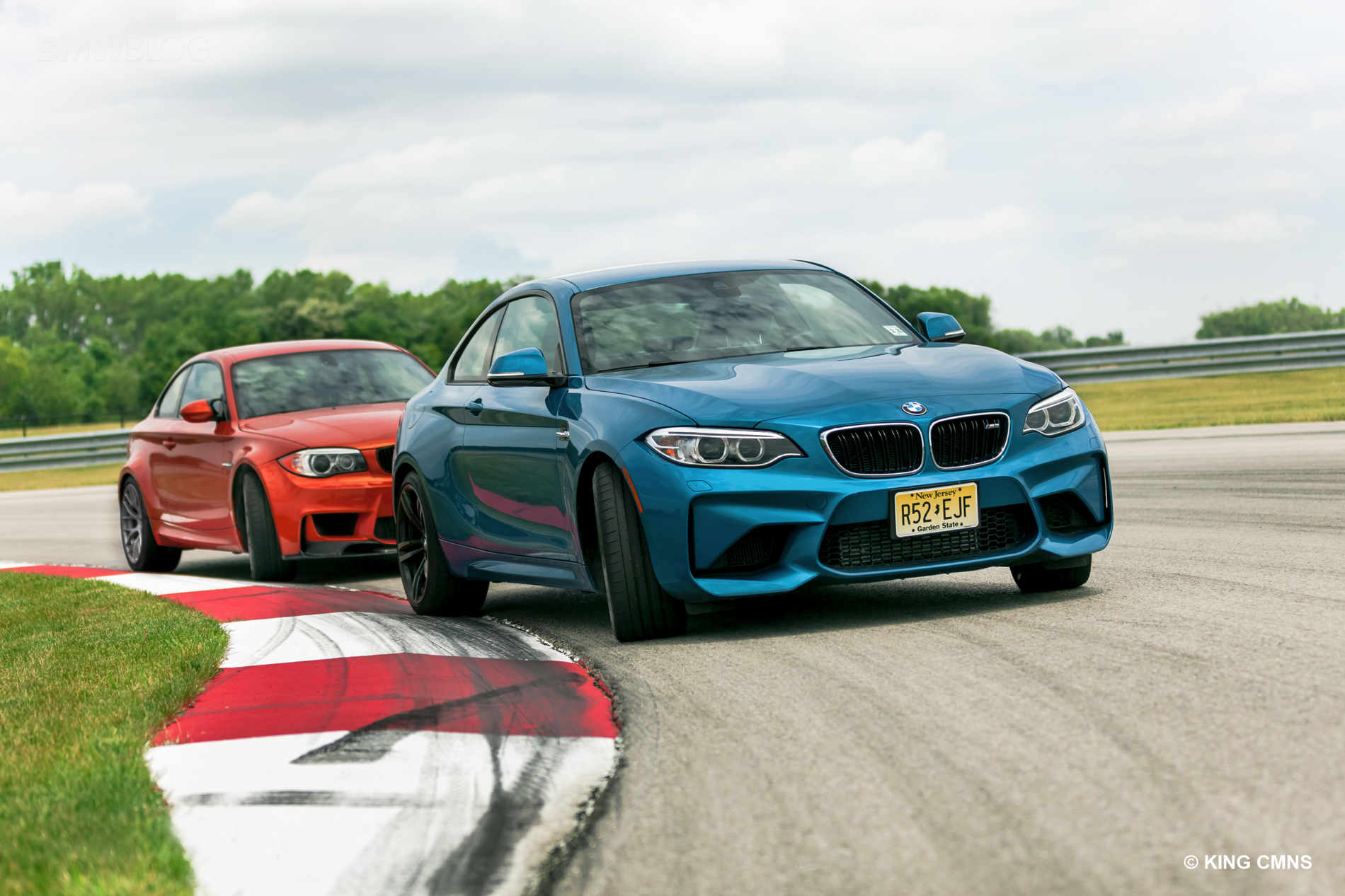 BMW M2 vs BMW 1M 5