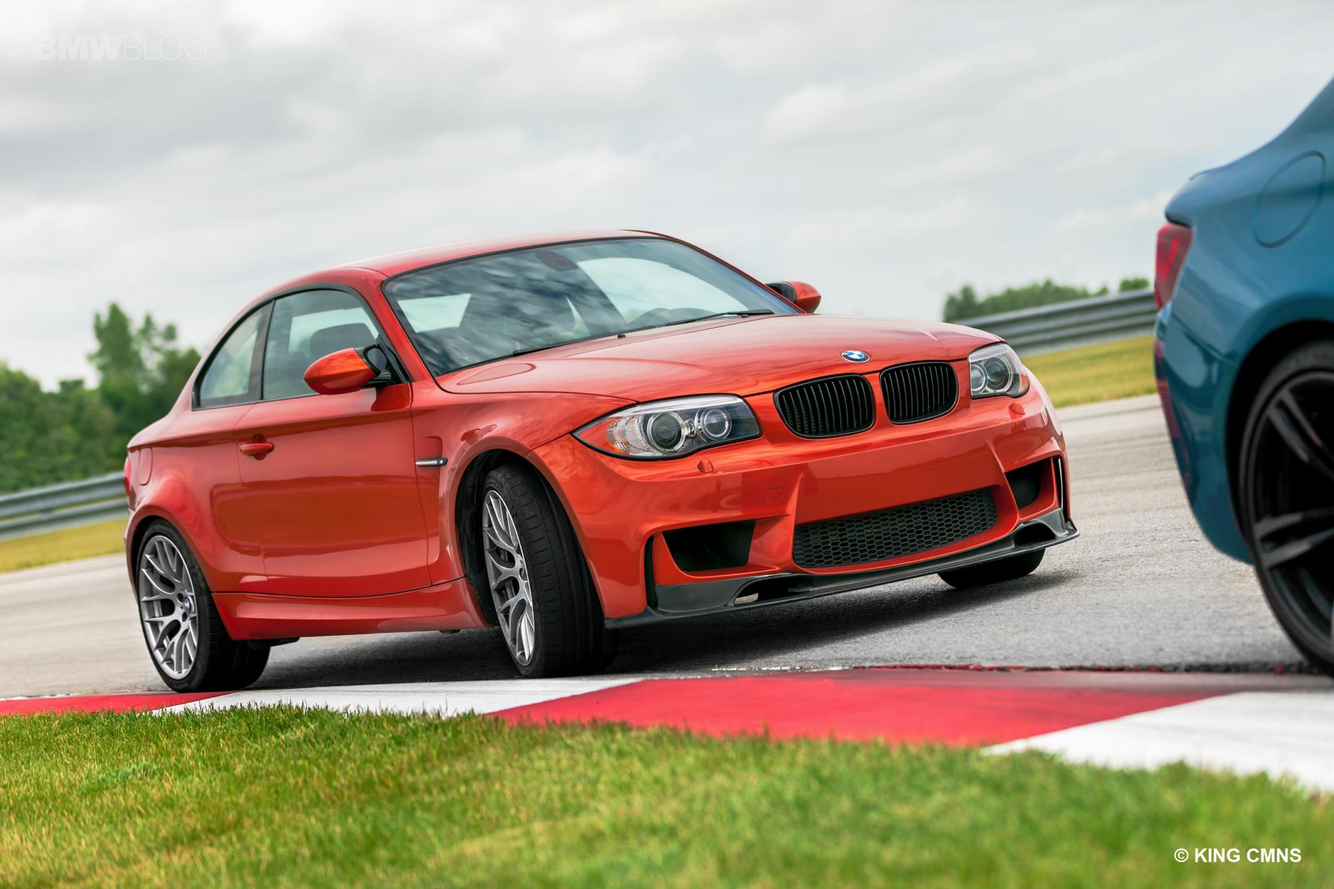 BMW M2 vs BMW 1M 7