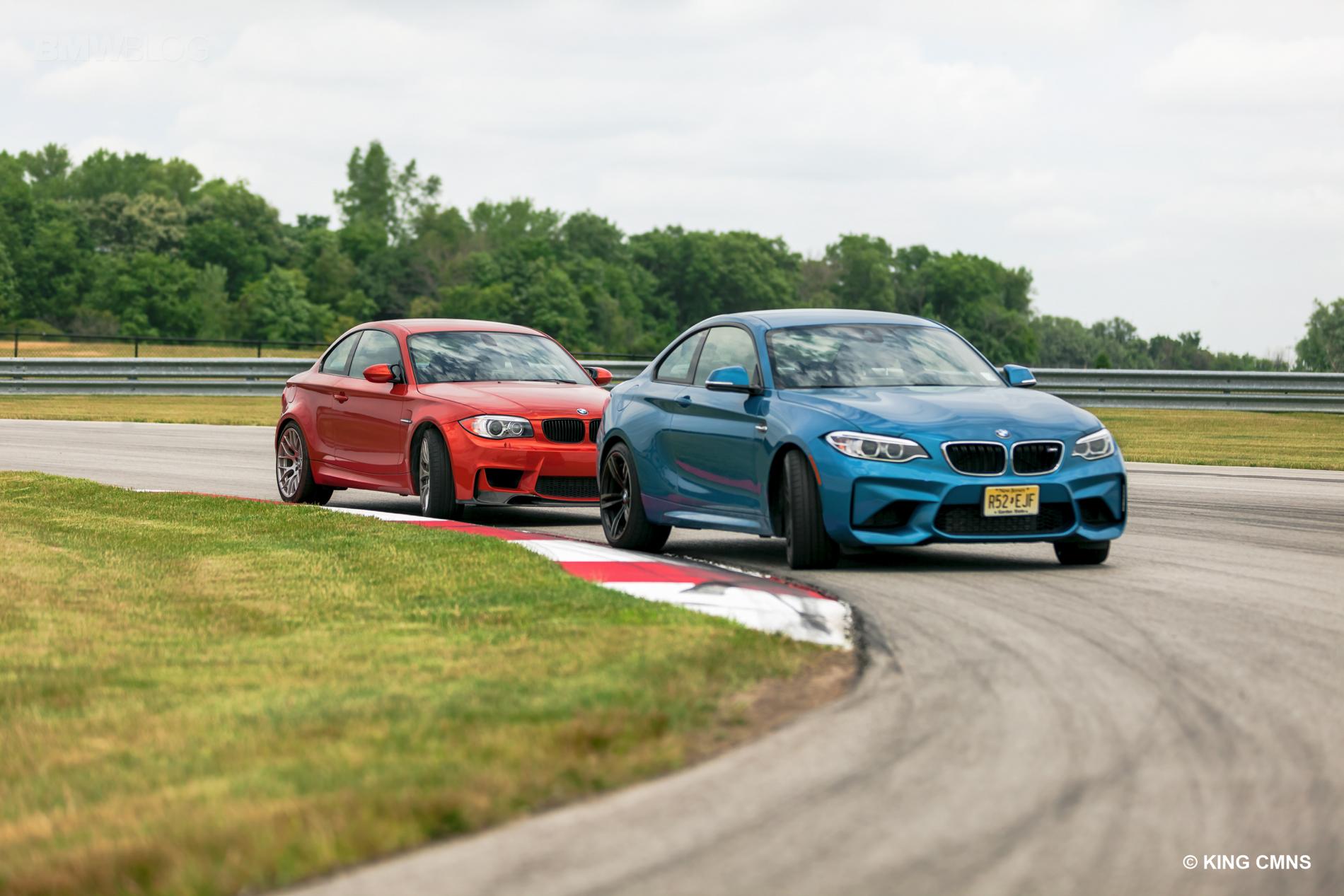 BMW M2 vs BMW 1M 8
