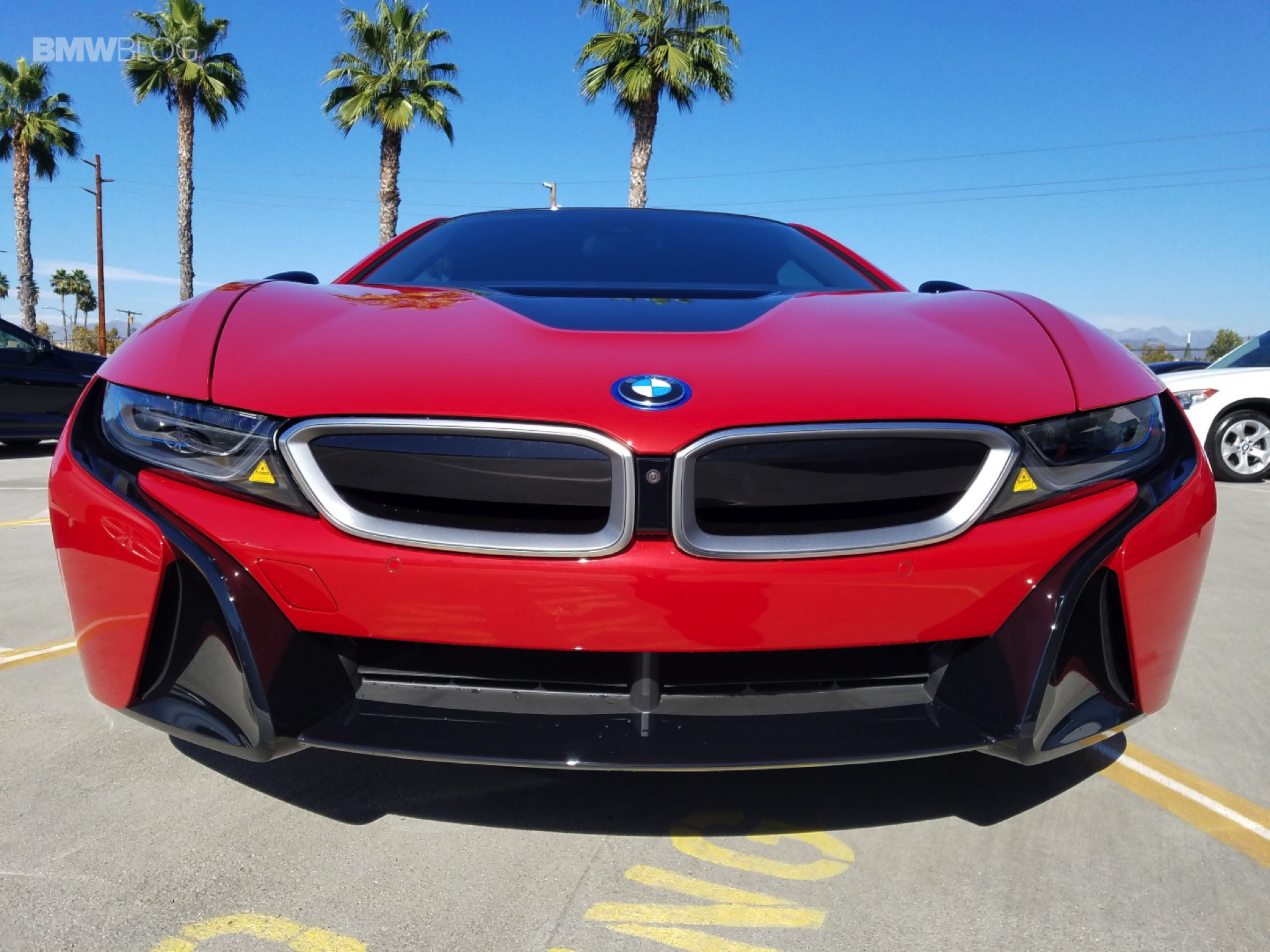 Bmw I8 Protonic Red Shows Up At Local Dealerships