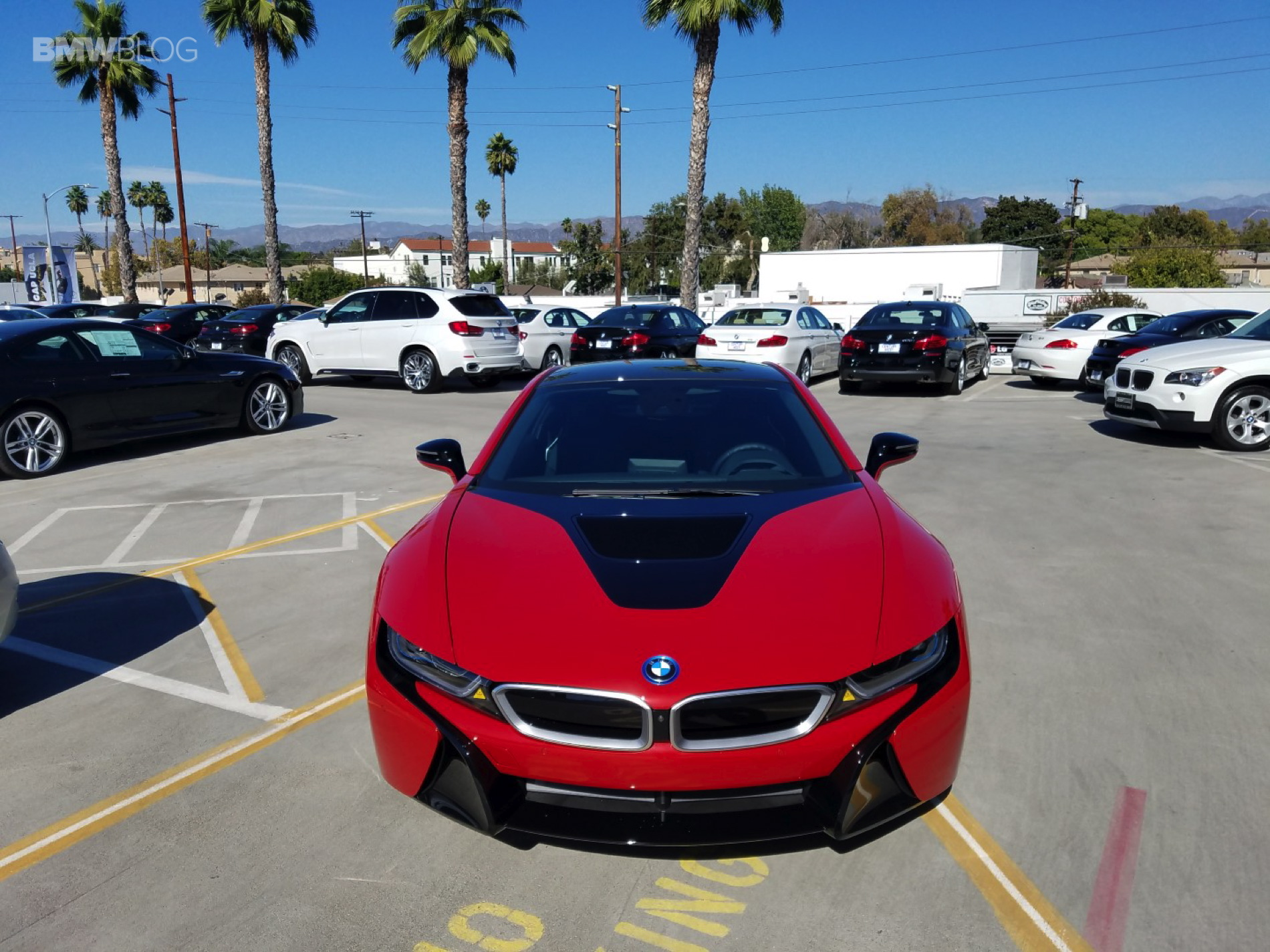 BMW i8 Protonic Red century west 11