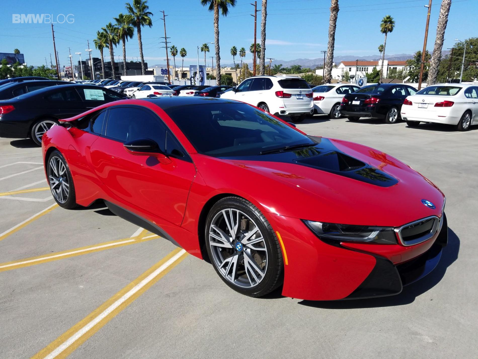 BMW i8 Protonic Red century west 3