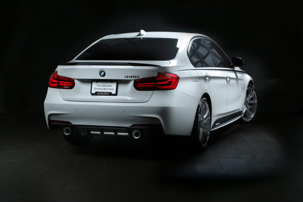 Video Bmw 340i Touring With M Performance Exhaust On