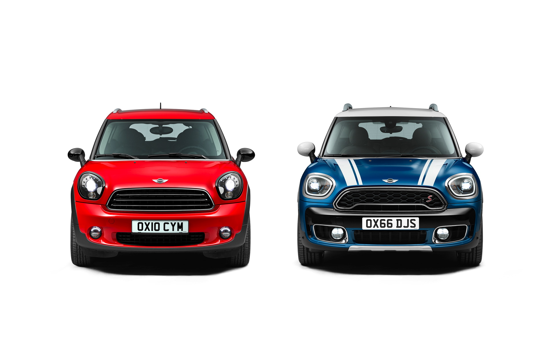 Photo Comparison Mini R60 Countryman Vs New Mini F60