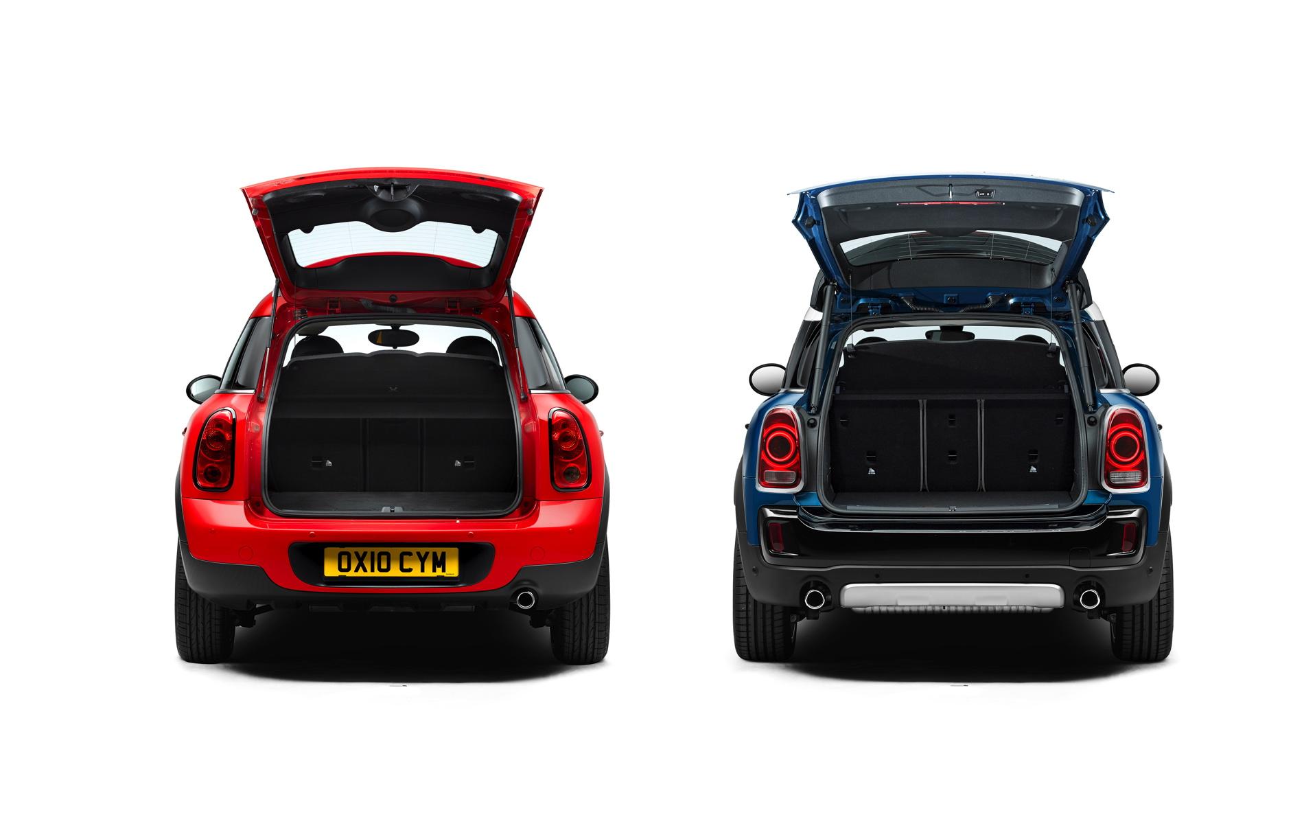 Photo Comparison Mini R60 Countryman Vs New Mini F60