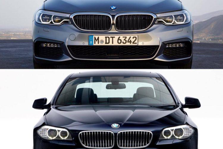 G30 5 Series vs F10 5 Series comparison 1 750x500