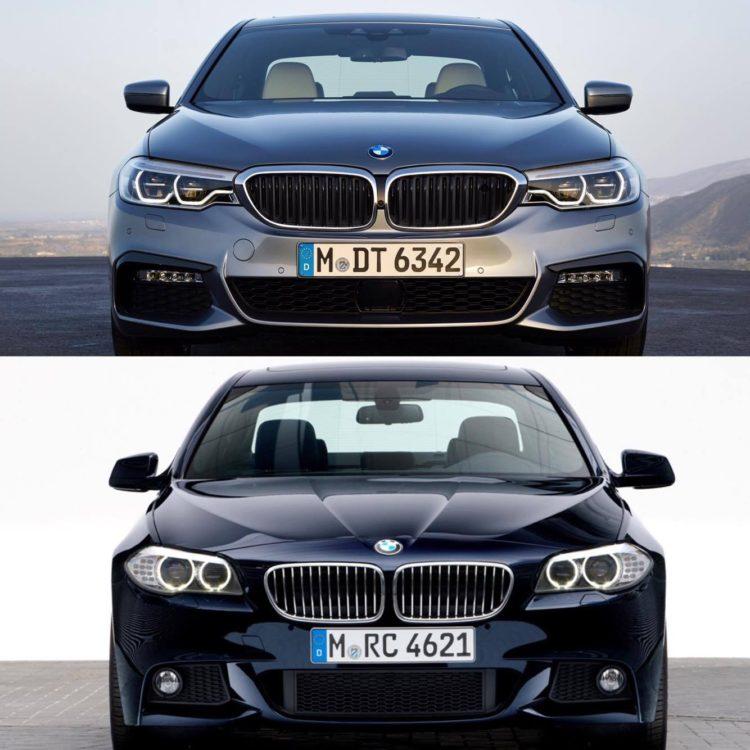 G30 5 Series vs F10 5 Series comparison 1 750x750