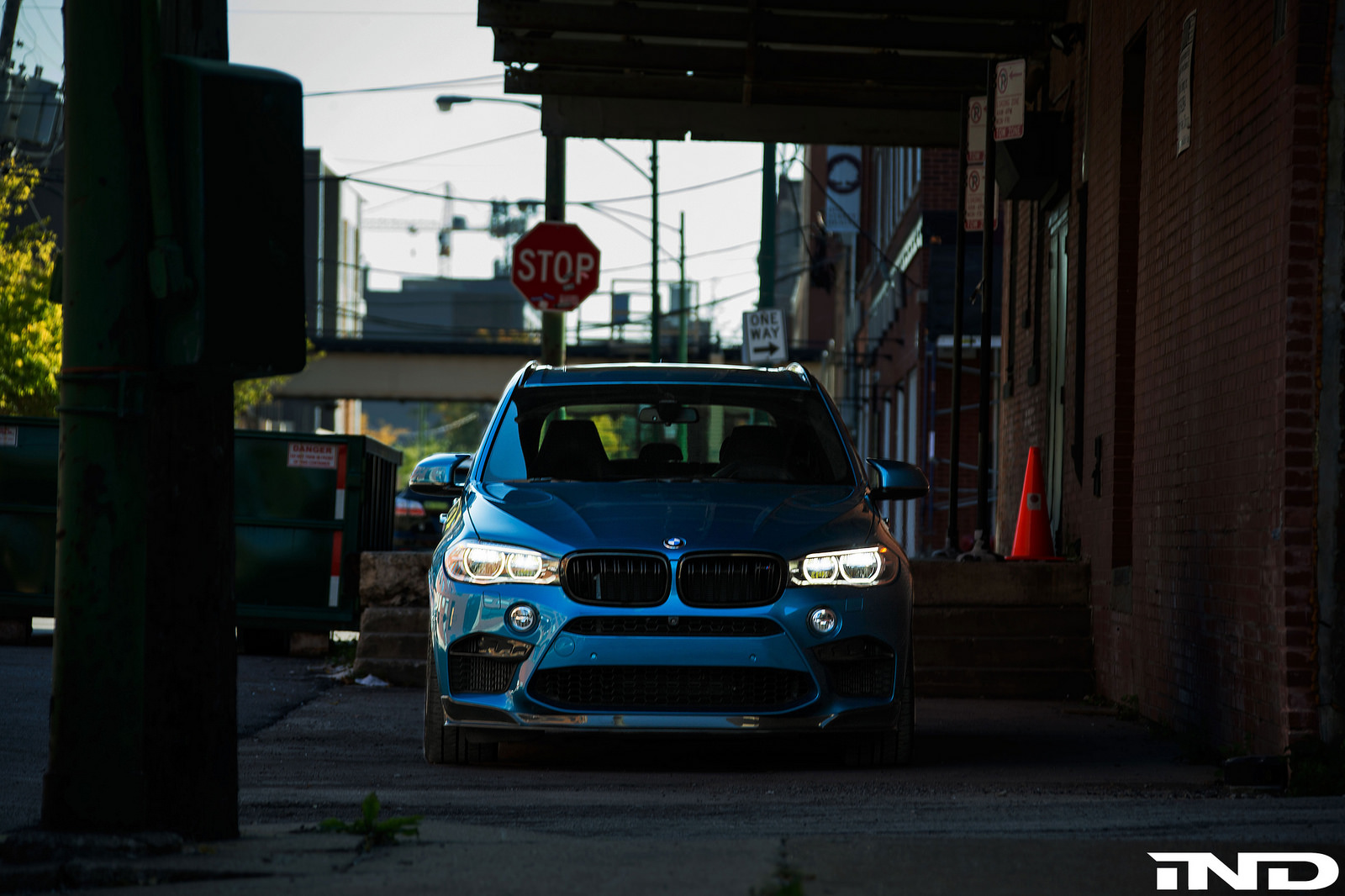Long Beach Blue BMW X5 M By IND Distribution 1