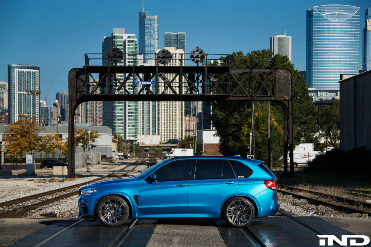Long Beach Blue BMW X5 M By IND Distribution 2 750x500