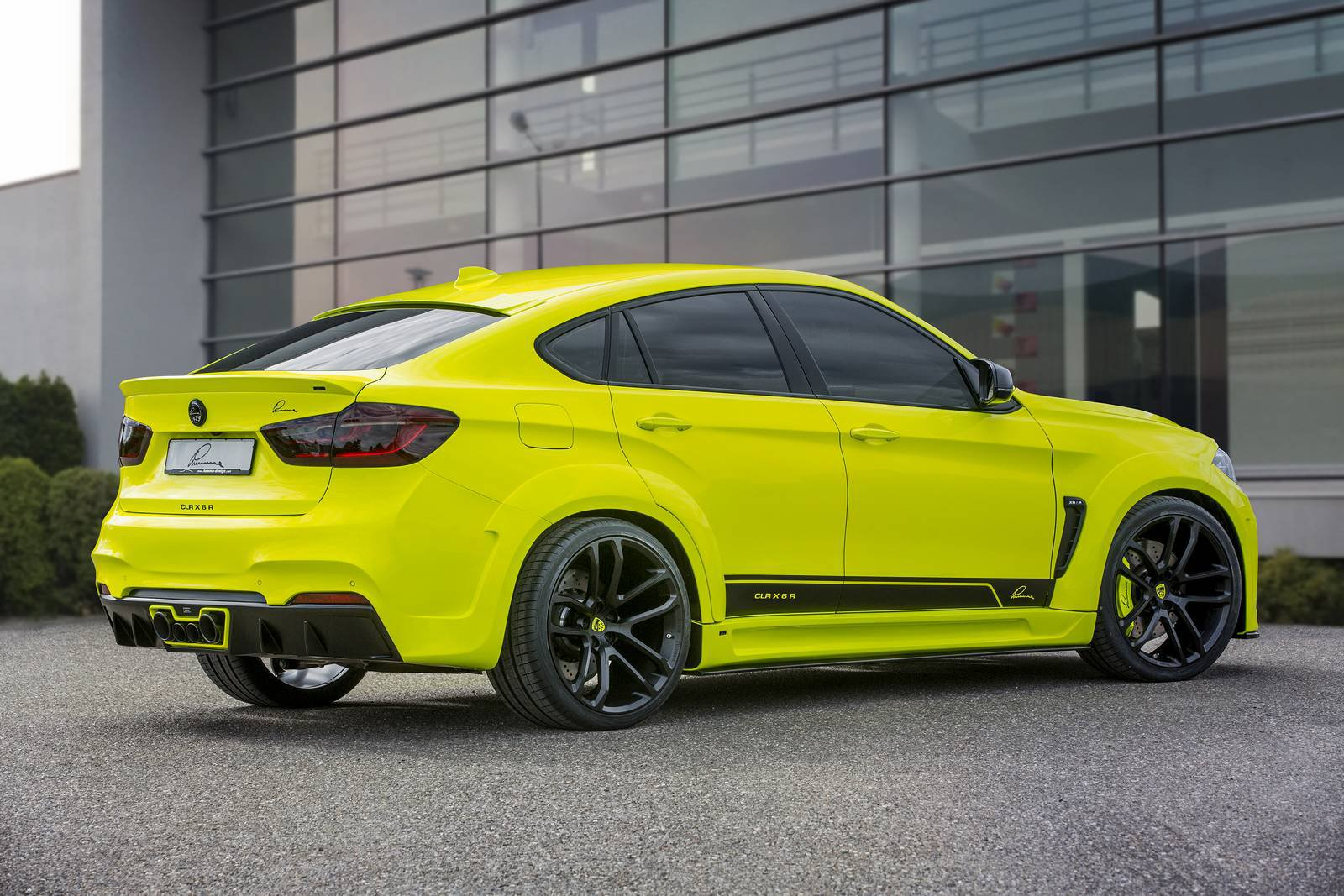 Car Body Kits >> 750hp BMW X6 M by Lumma Design