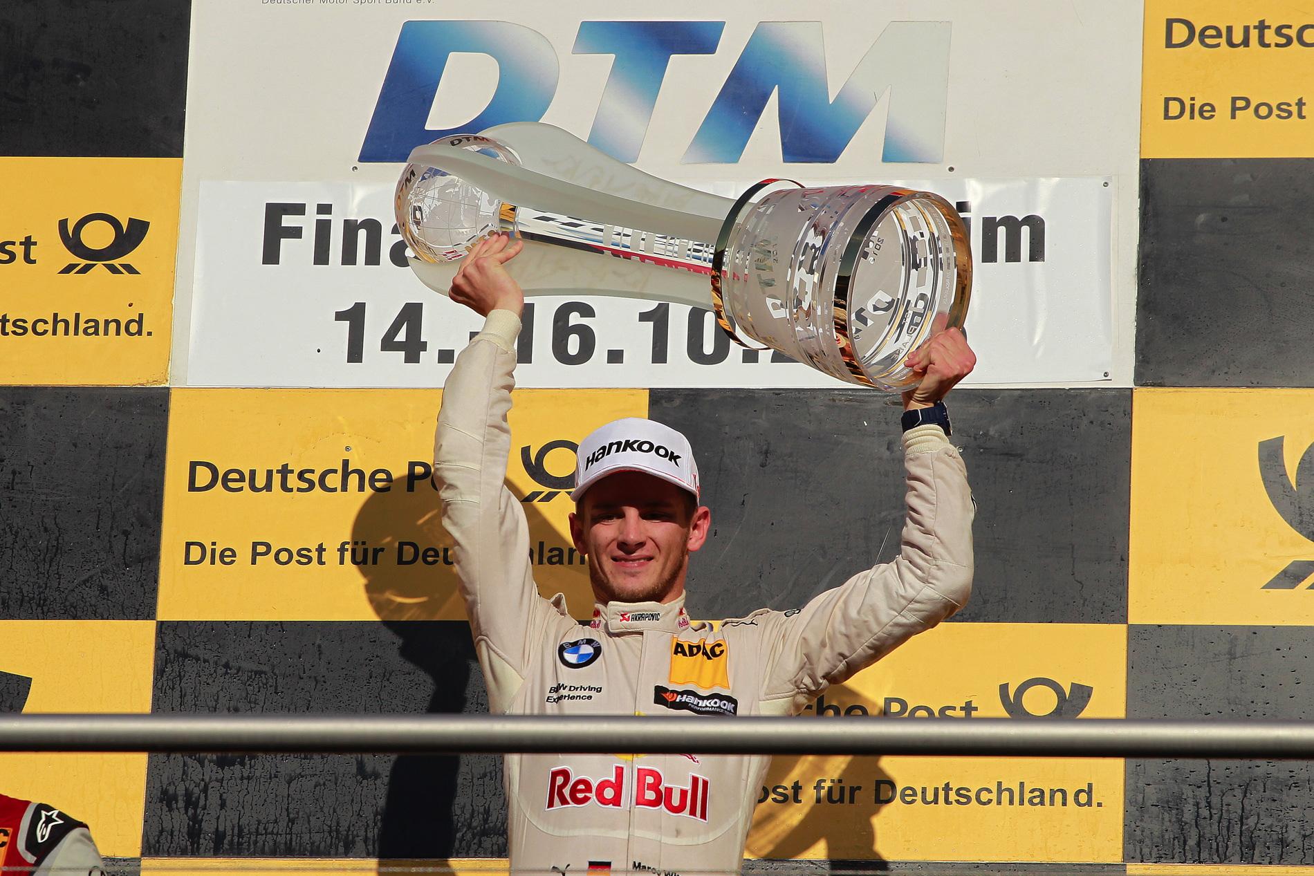 Marco Wittmann DTM Champion 8
