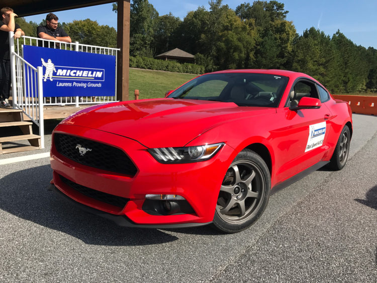 Michelin-Mustang-autocross