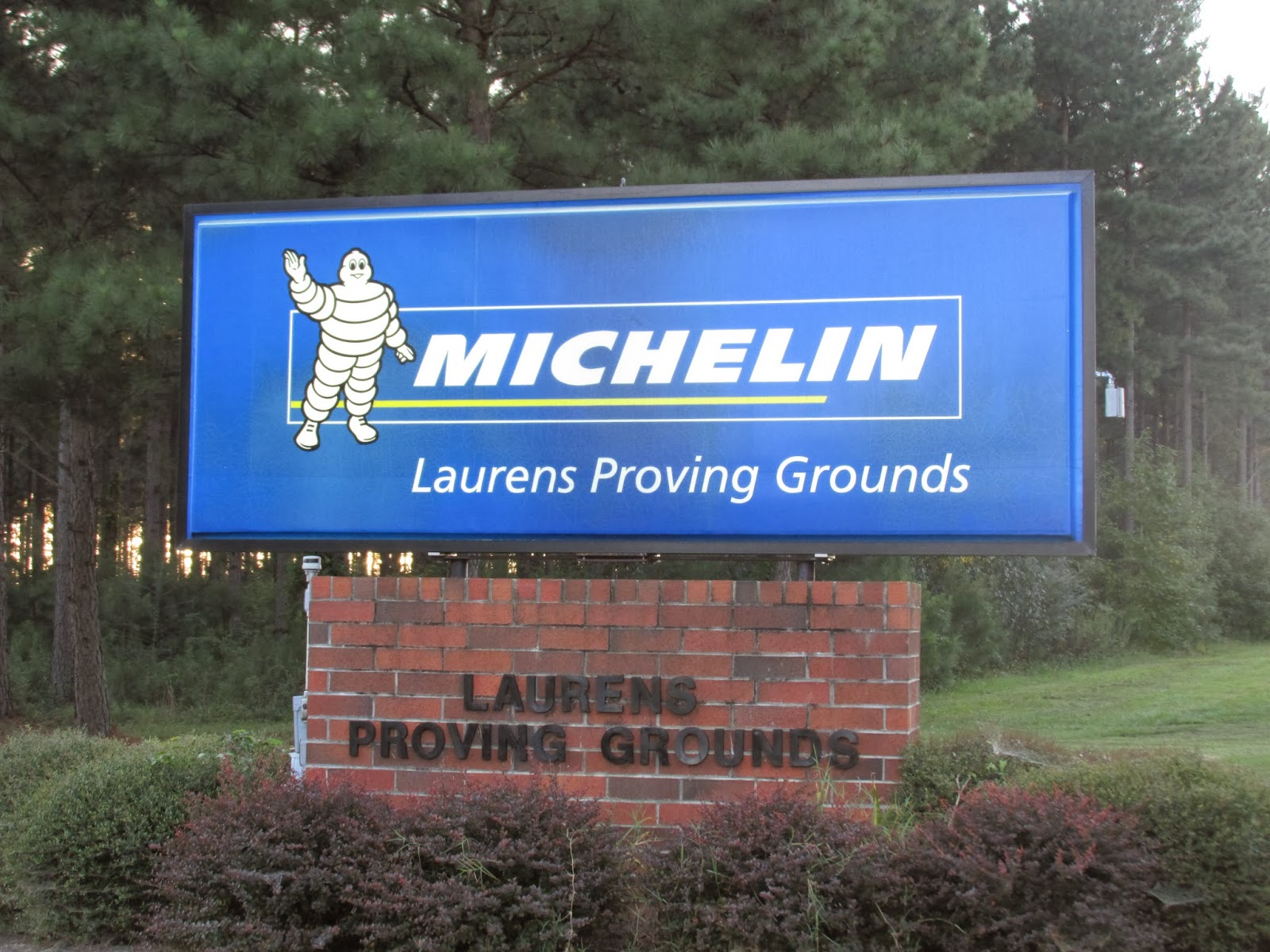 Michelin Proving Grounds laurens